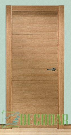 instalar puerta de roble MF en Madrid