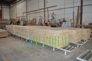 fabricación e Instalación de puertas en block