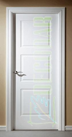 puerta lacada instalada en madrid