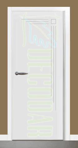 instalación de puertas modelo León en Madrid