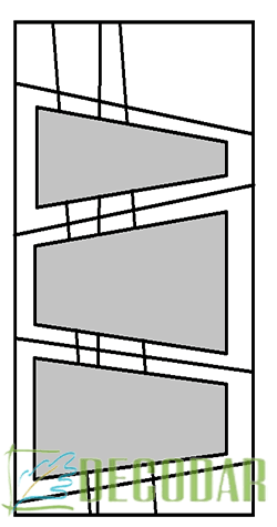 instalación de puertas modelo PIcasso V en Madrid
