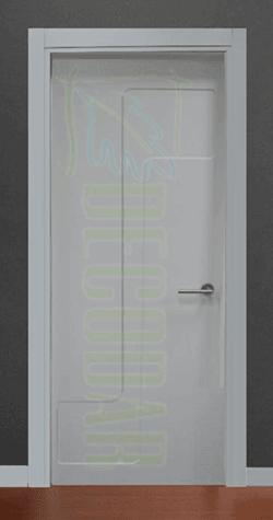 instalar puerta lacada en Madrid modelo S
