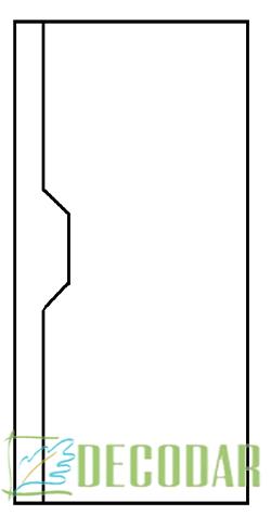 instalar puerta lacada en Madrid modelo Segovia
