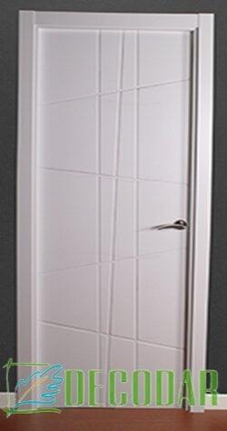 puerta instalada modelo picasso en madrid