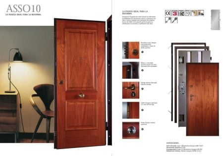 puertas de seguridad ASSO 10